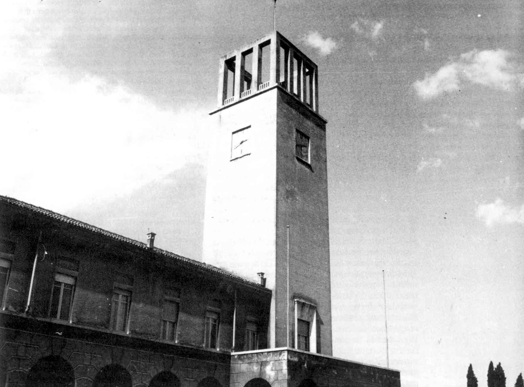 Torviscosa torre del palazzo comunale